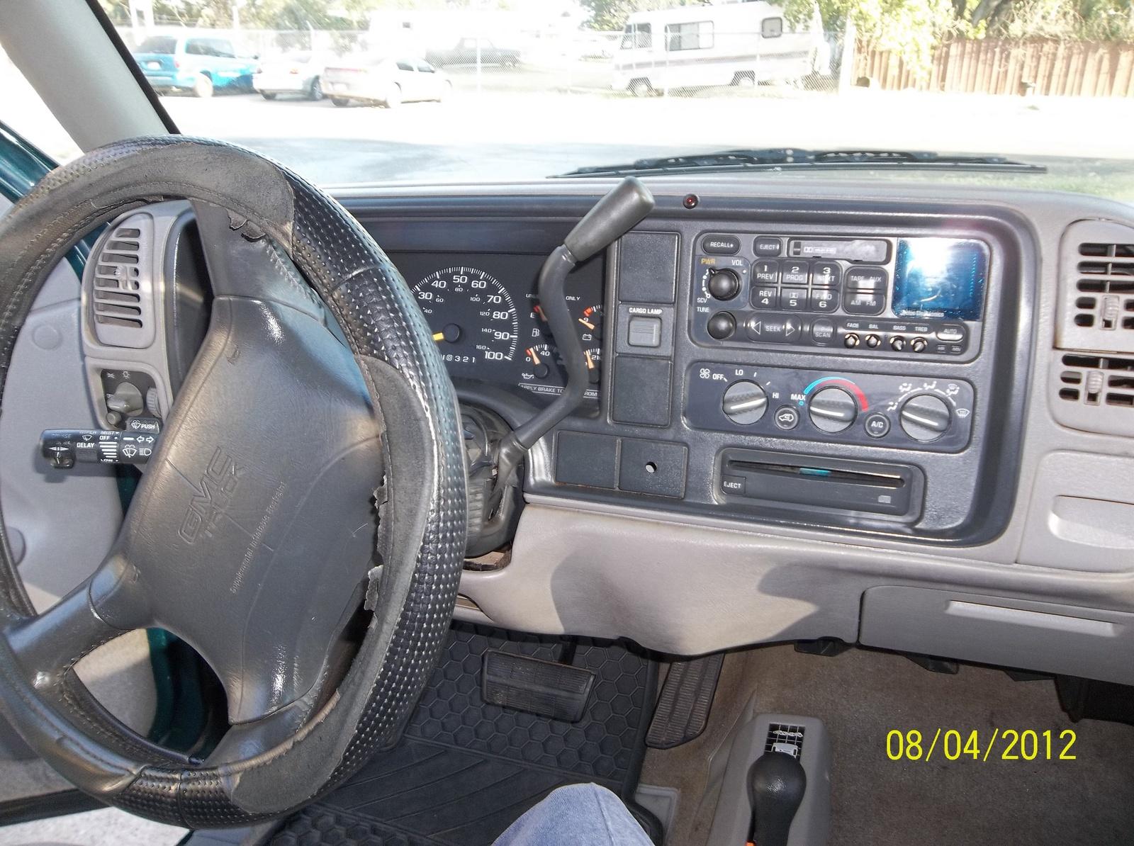 Interior Gmc Sierra 1995