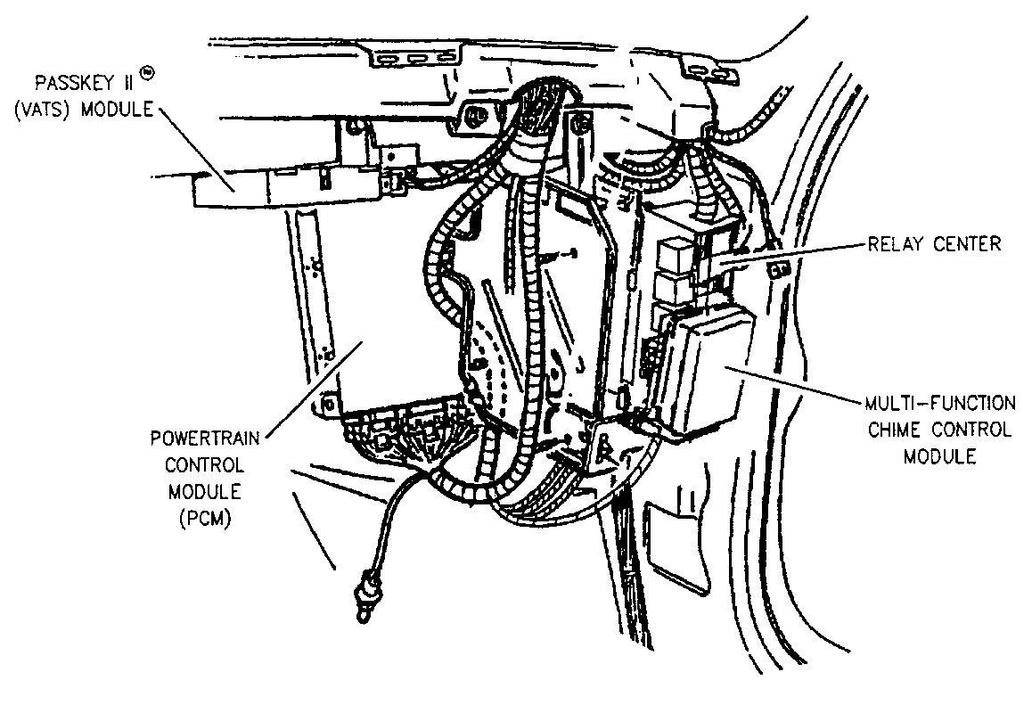 [WRG-0704] 1994 Buick Lesabre Ignition Switch Wiring Diagram