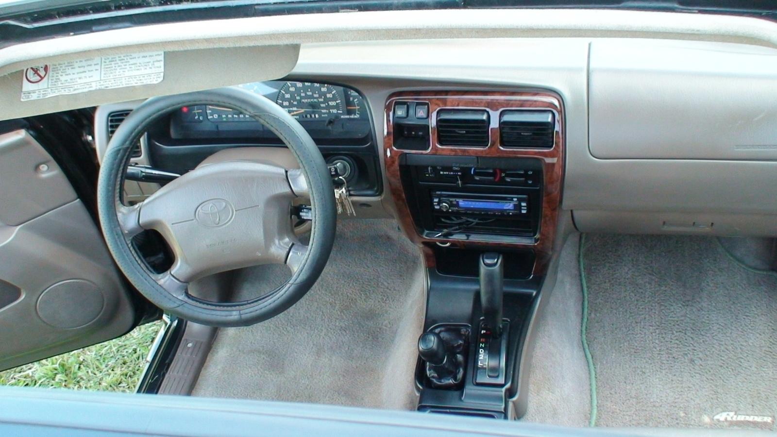 1992 Toyota 4runner User Manual