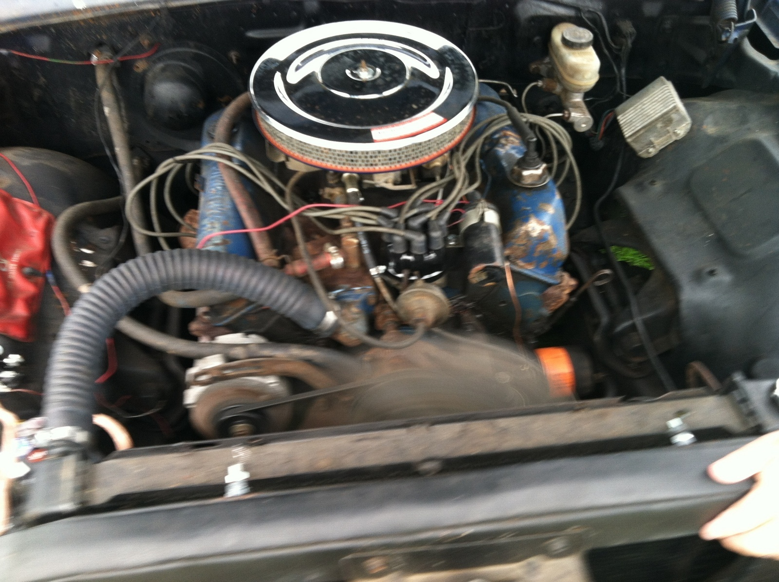 1964 ford fairlane wiring diagram 1986 f150 starter solenoid galaxie questions - i need to verify the engine in my 62 500. was told by l ...