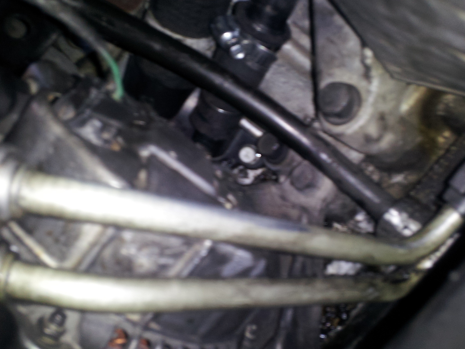 hight resolution of 2 7 engine have a little hole that keeps leaking coolant from the motor its