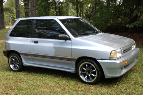 1988 ford festiva pictures