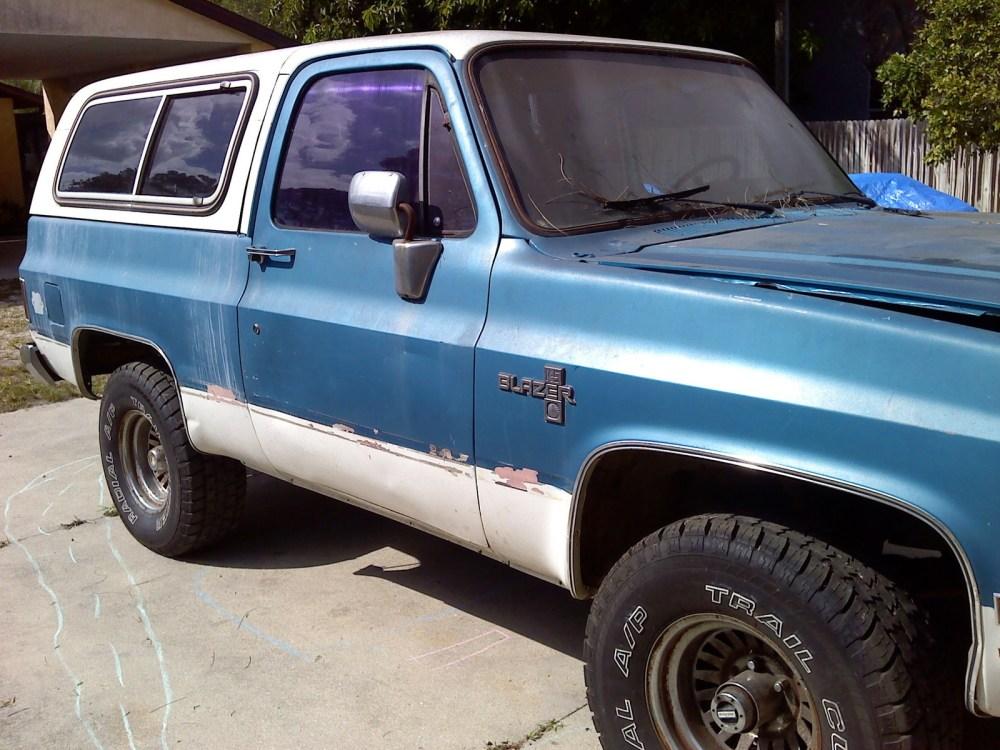 medium resolution of lifted 1985 chevy blazer