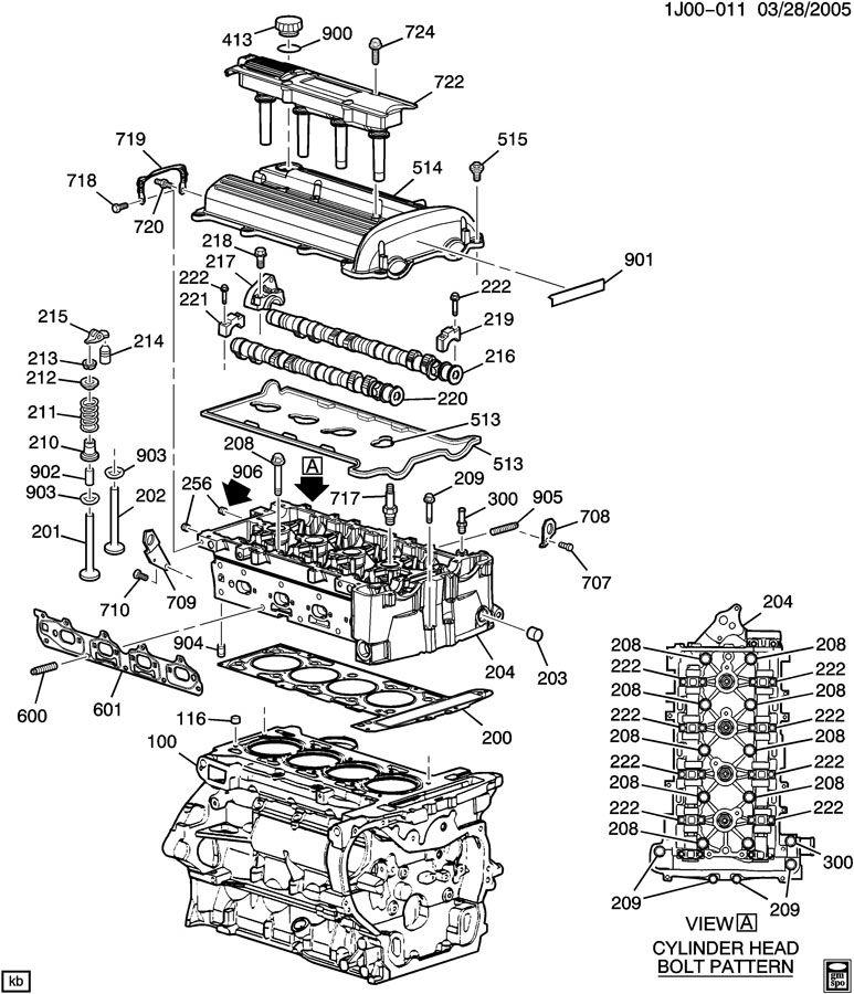 2005 Pontiac Grand Am 3400 Motor Diagram, 2005, Free