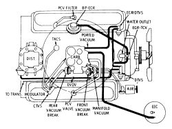 Oldsmobile 350 Vacuum Diagram, Oldsmobile, Free Engine