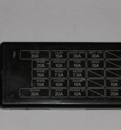 1986 rx 7 fuse box [ 1024 x 768 Pixel ]