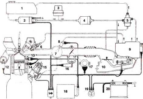 1973 porsche 914 wiring diagram spotlight questions - why does my 1975 2.0l smoke (white) after i run it hard an ...