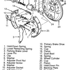2000 Ford Taurus Engine Diagram Amana Ptac Unit Wiring Questions What Type Of Rear Braking System Is Used 2 Answers