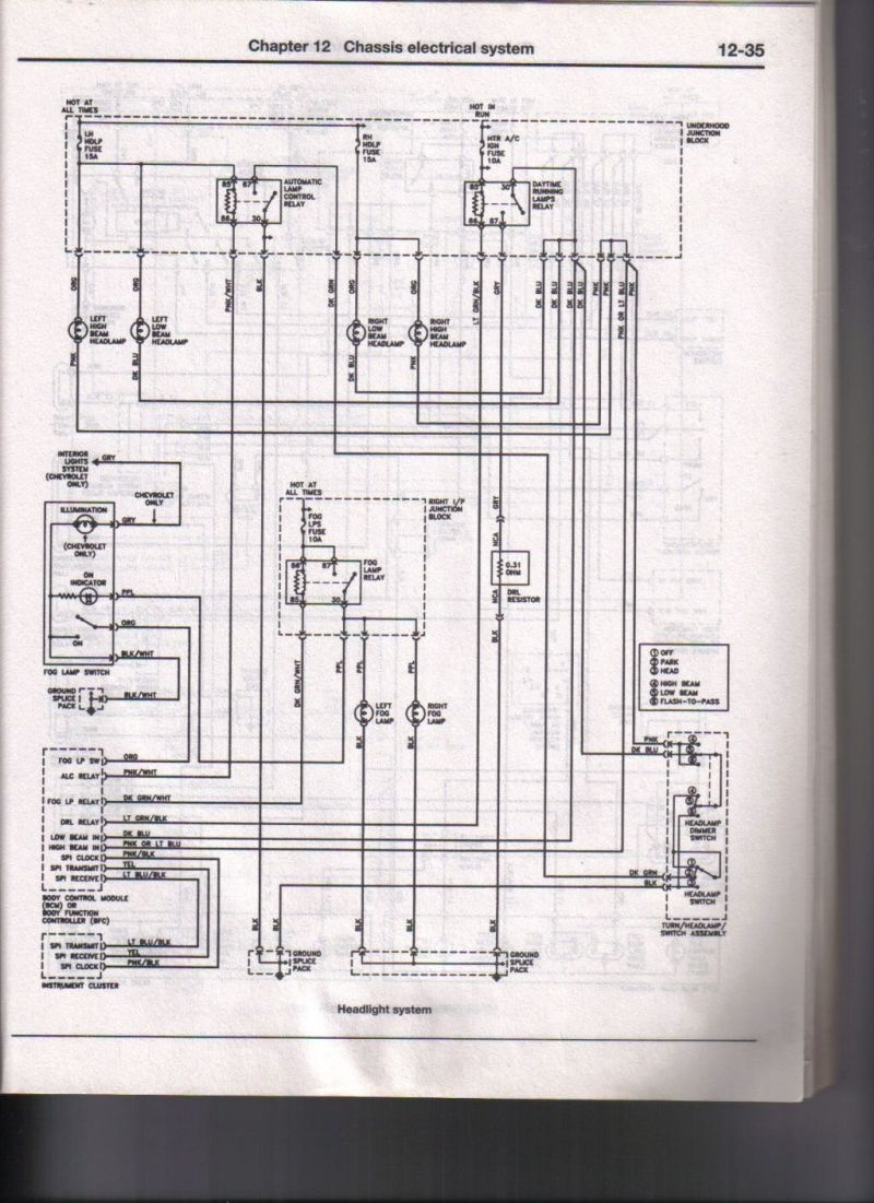 hight resolution of chevrolet cavalier questions 04 chev cavalier low bean lights ok2004 chevy cavalier wiring diagram lighting