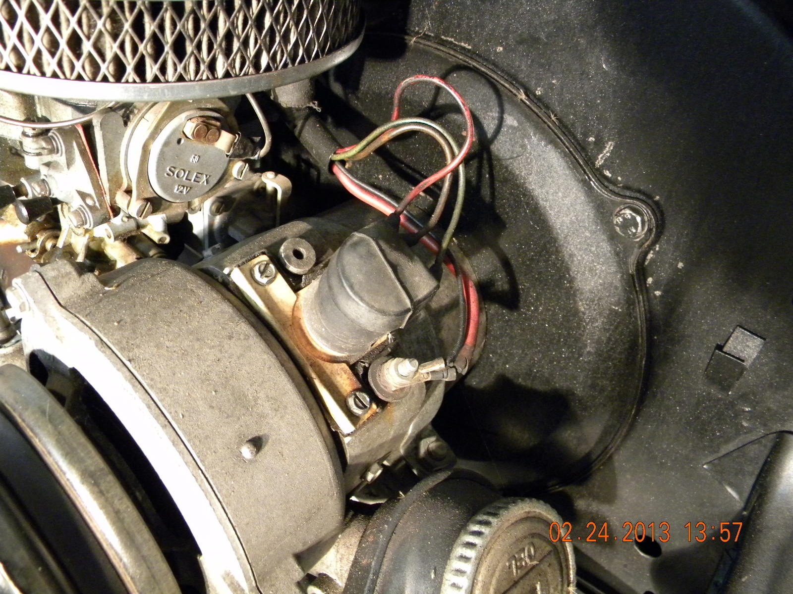 hight resolution of i have a 1974 beetle with a alternator with external regulator i am replacing the engine that has a generator installed how do i use the existing wiring