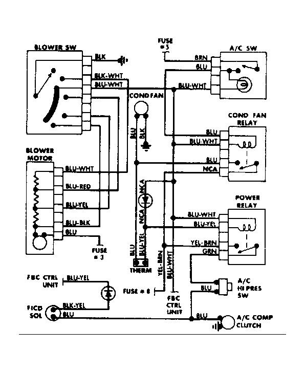 1987 Dodge D150 Wiring Diagram