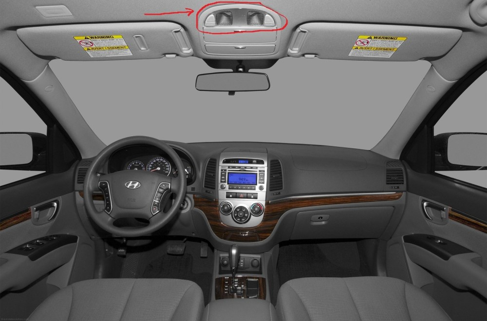 medium resolution of how do i turn on the interior lights to go on automatically for my hyundai santa fe