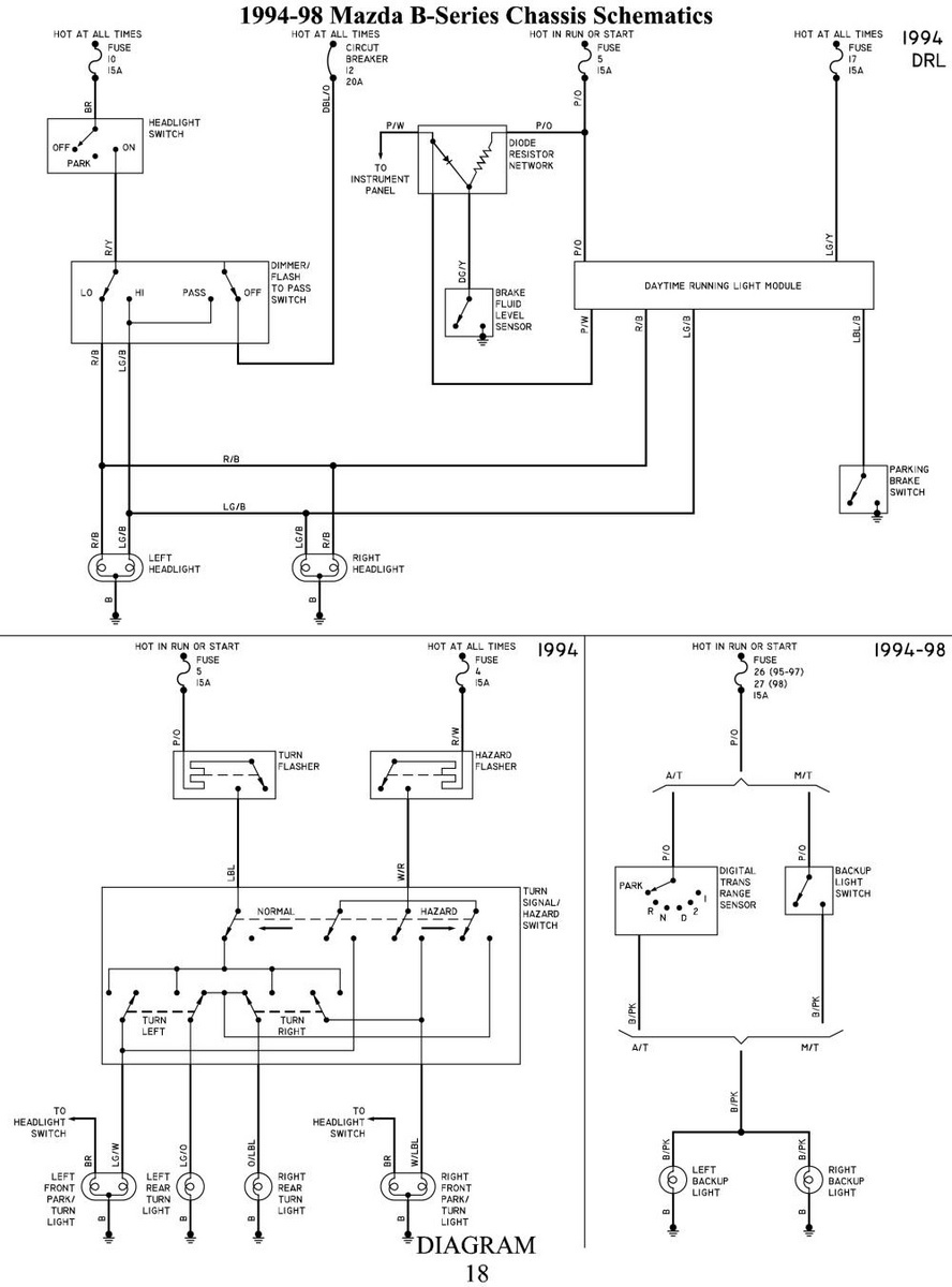 medium resolution of 1990 mazda b2600 fuse box diagram 33 wiring diagram 2005 mazda bravo stereo wiring diagram 2005 mazda bravo stereo wiring diagram