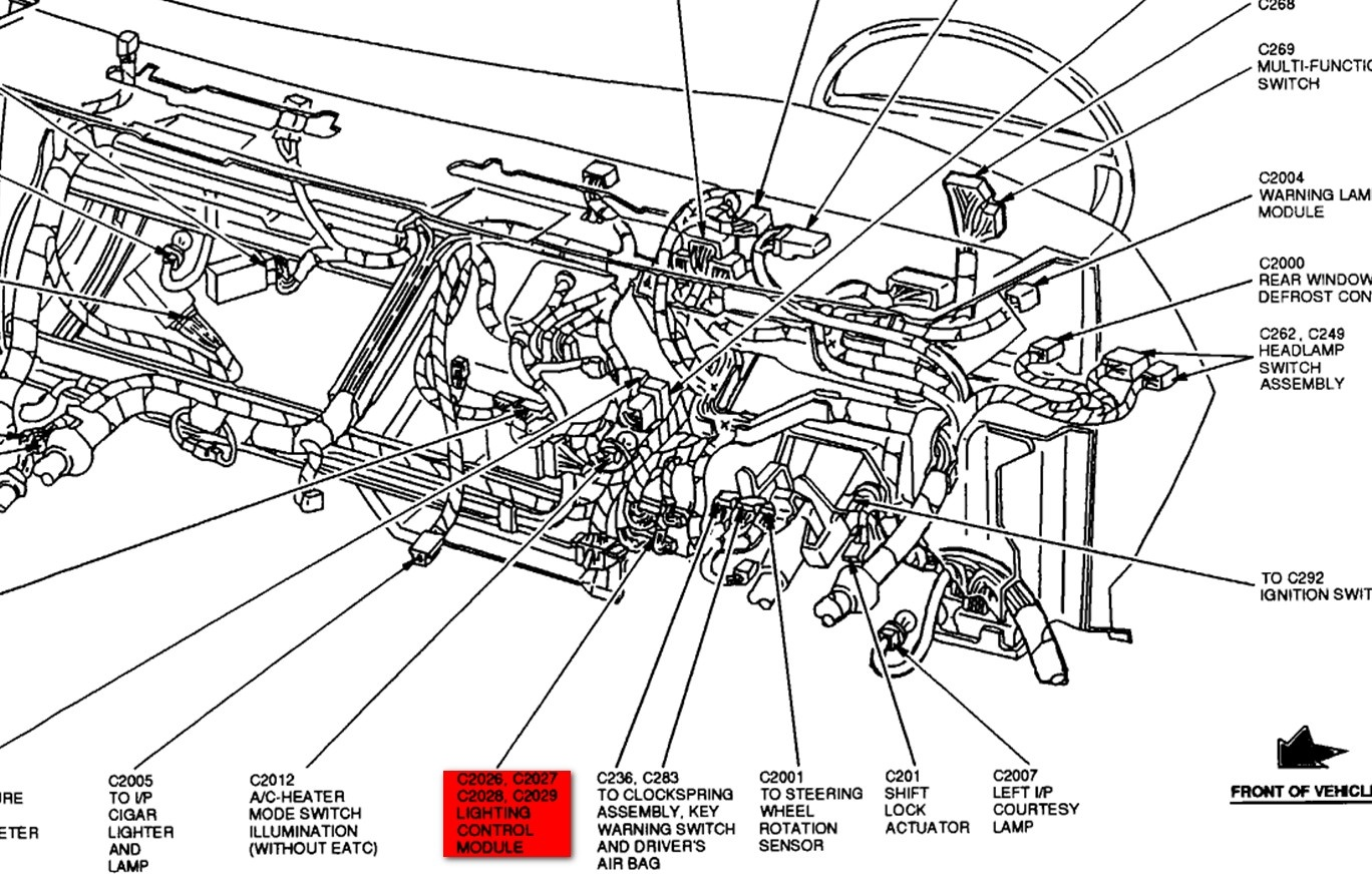 [WRG-6981] 2003 Mercury Grand Marquis Wiring Diagram Lights