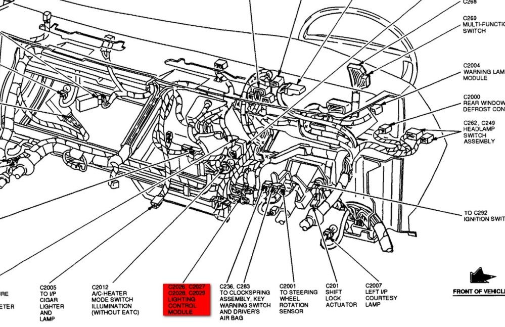 medium resolution of lincoln town car electrical wiring diagram