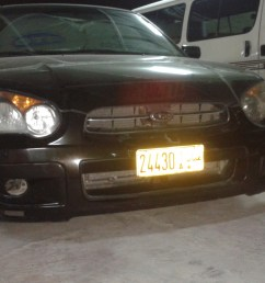 2003 subaru impreza i removed the front fog lights to clean them form the insid [ 1600 x 1200 Pixel ]