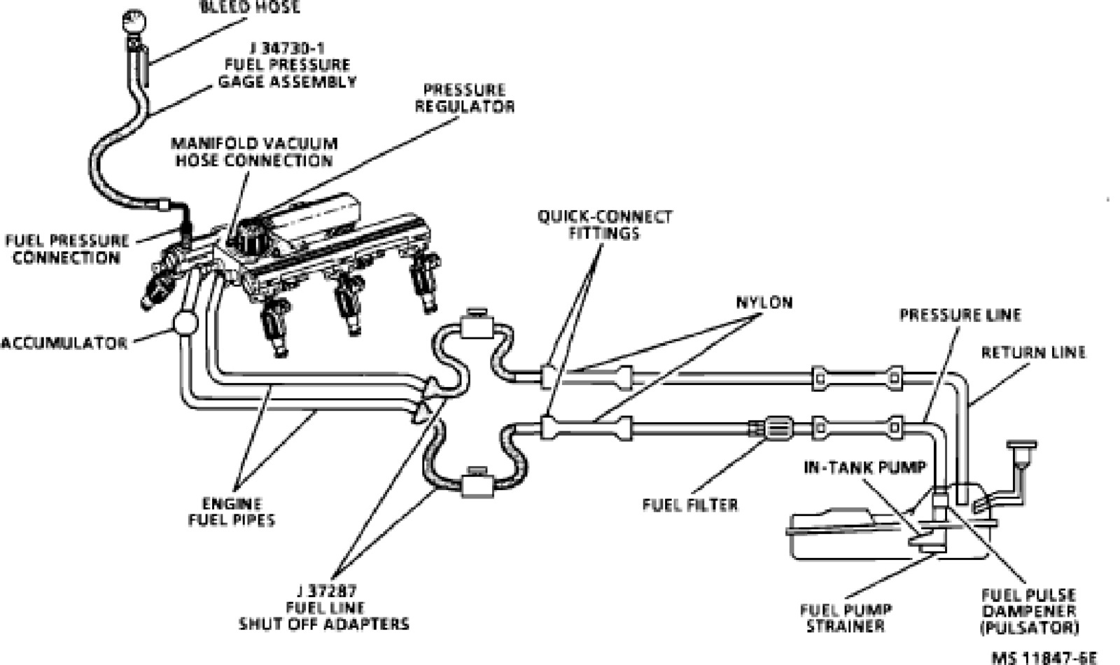 59 Cummins Fuel Line Diagram