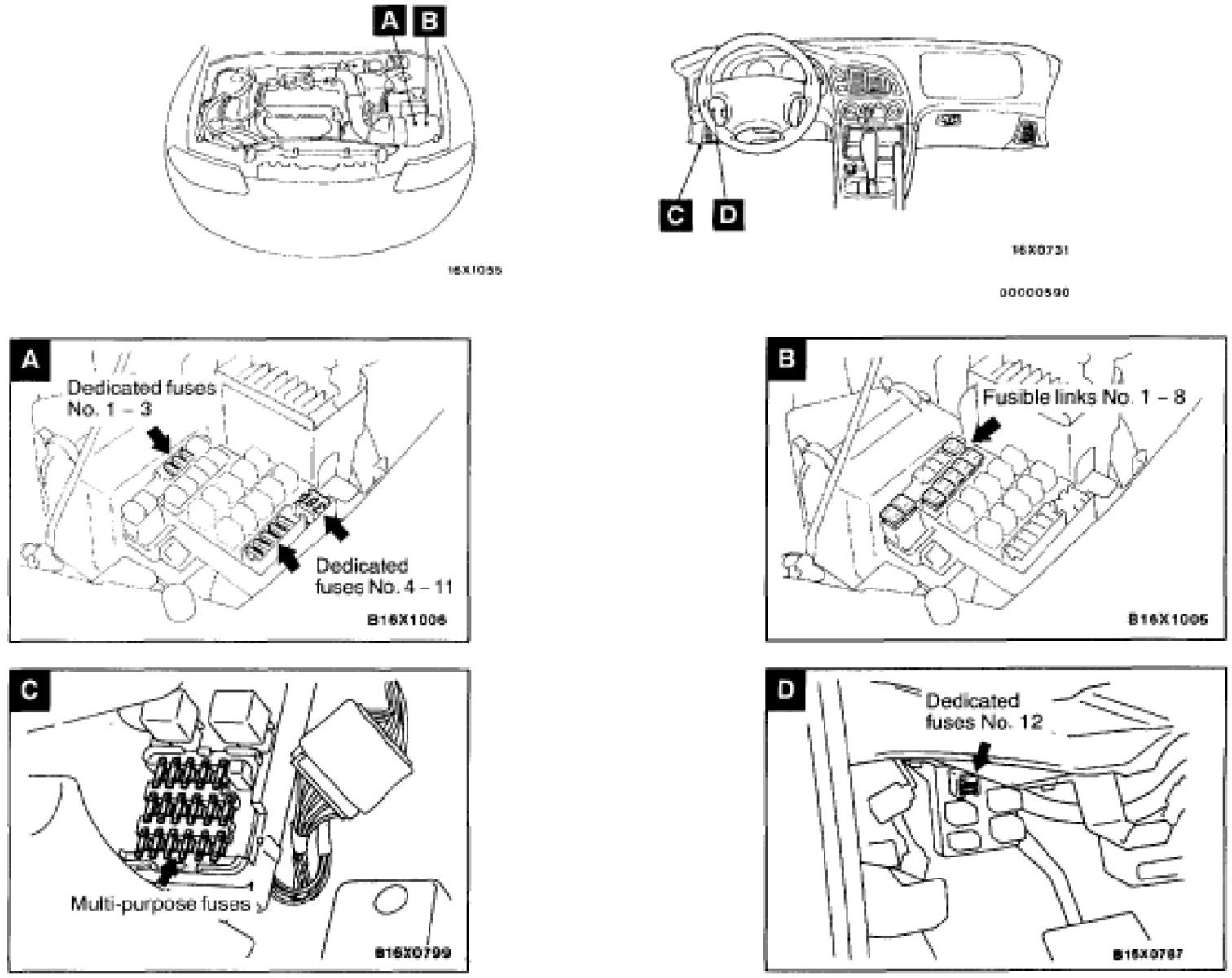 2005 chrysler sebring under hood fuse box diagram