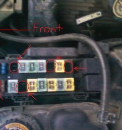1995 thunderbird fuse box wiring diagrams rh arquetipos co 1996 ford explorer fuse diagram 1995 ford [ 1024 x 768 Pixel ]