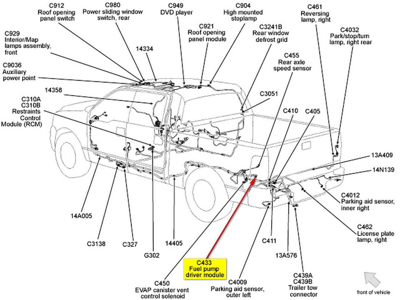 2002 ford f 150 fuel system diagram