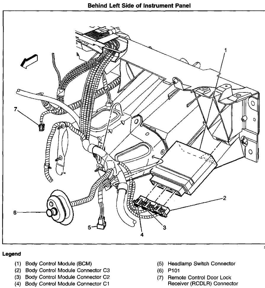 2001 Oldsmobile Silhouette Fuse Box Diagram, 2001, Free