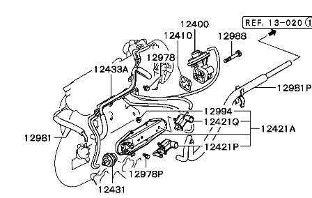 Diagram Of Engine Mitsubishi Galant 01, Diagram, Free