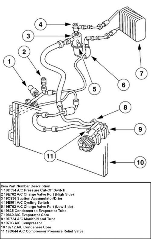 small resolution of ford focus questions where is the low side port in my 2002 ford ford focus wiring diagram 2003 ford focus ac diagram
