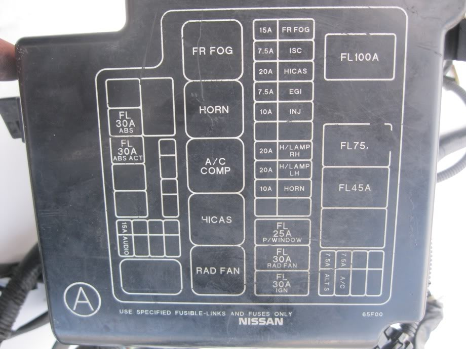 2005 Nissan 200sx Inside Fuse Box Diagram