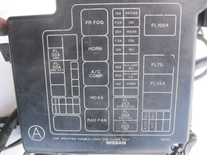 1995 240sx fuse diagram  center wiring diagram fludetail