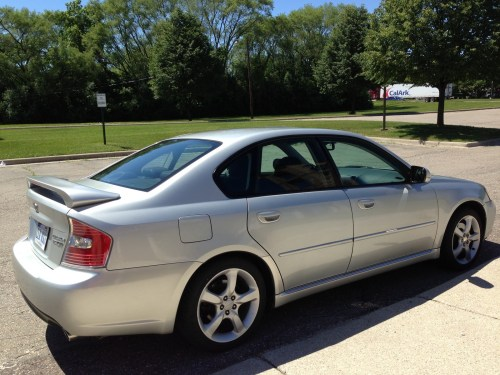small resolution of 2006 subaru legacy 2 5 gt spec b picture exterior