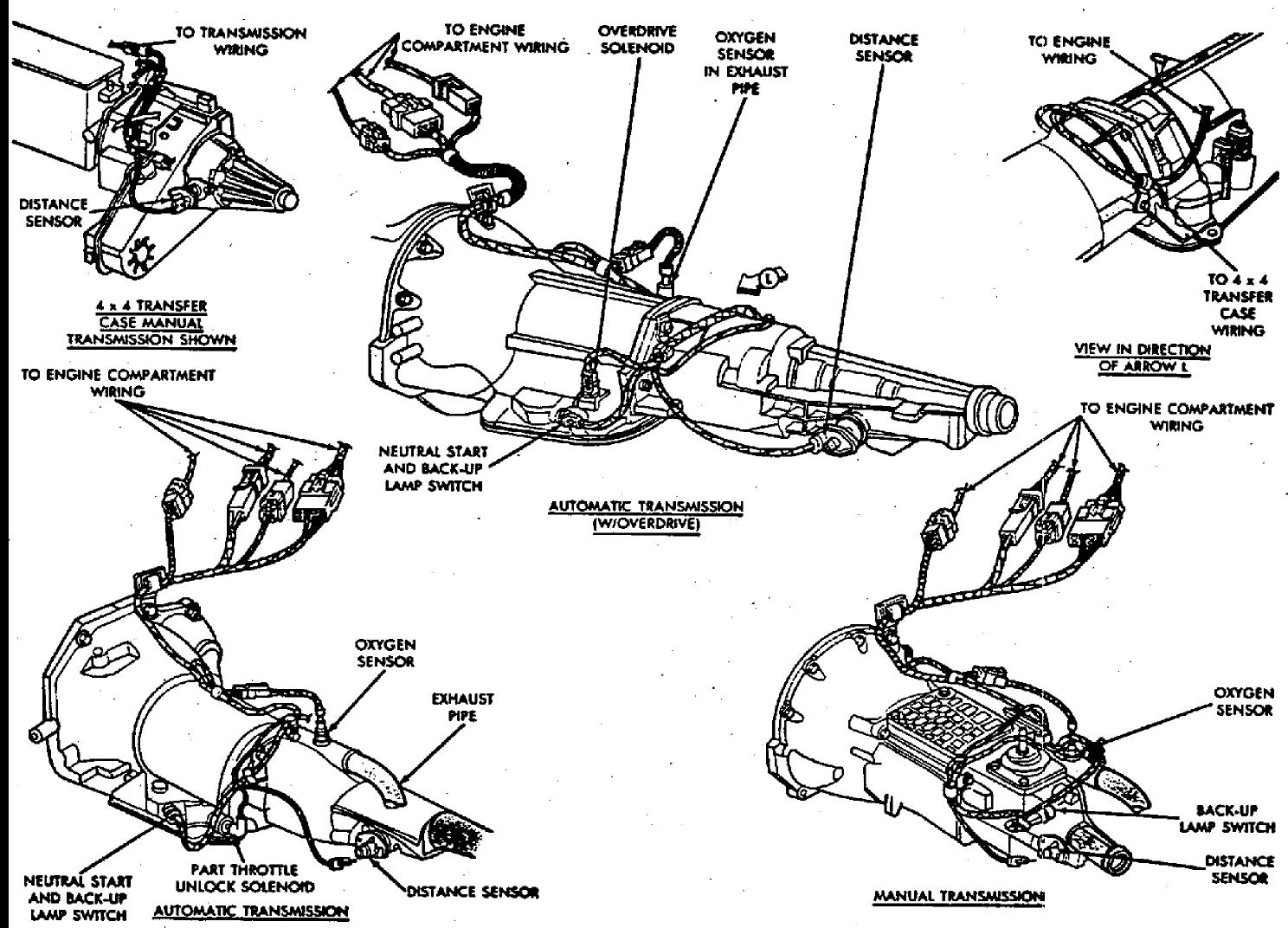 Dodge Dakota Neutral Safety Diagram