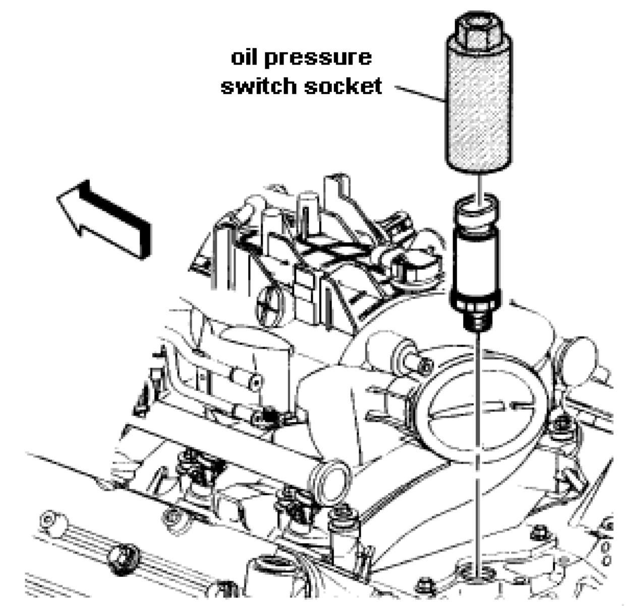hight resolution of chevrolet suburban questions where would i find the oil pressure 4 answers diagram of engine oil sending unit