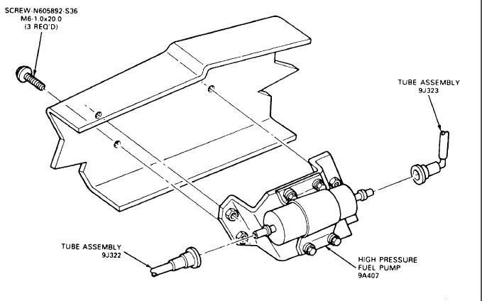 1988 Ford Ranger Fuel System Diagram
