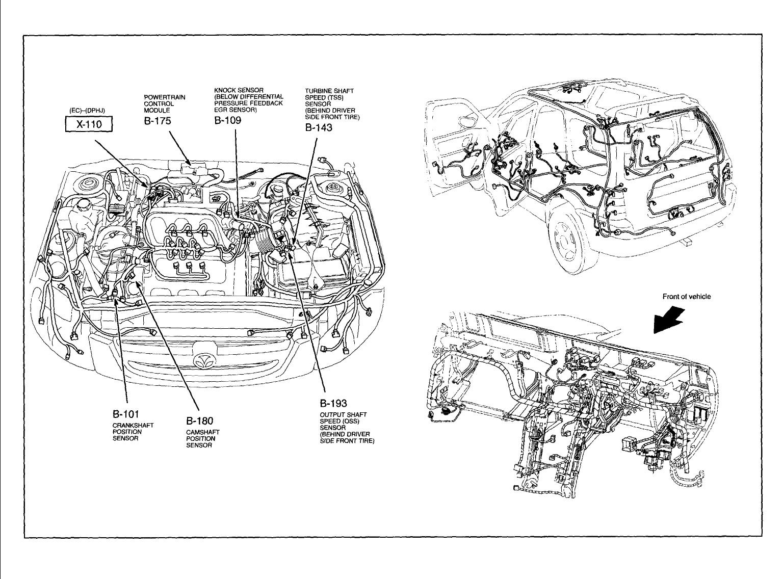 hight resolution of mazda mx 3 questions whear is the crankshaft sencer locatiom on a 5 answers