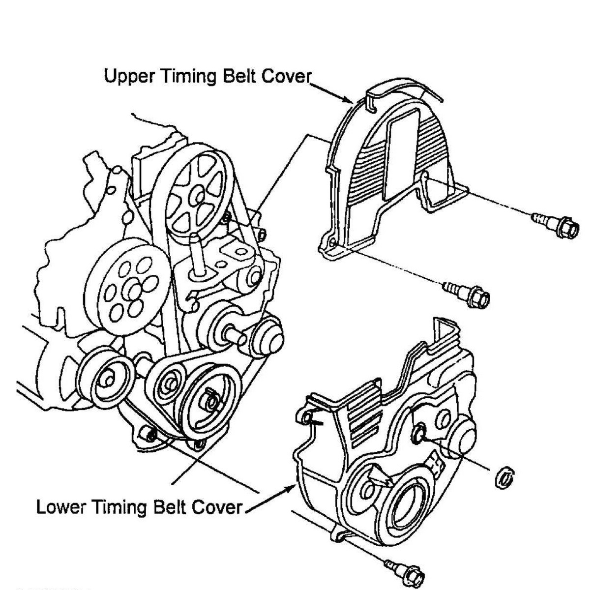 Honda Civic Timing Belt Diagram. honda civic how to