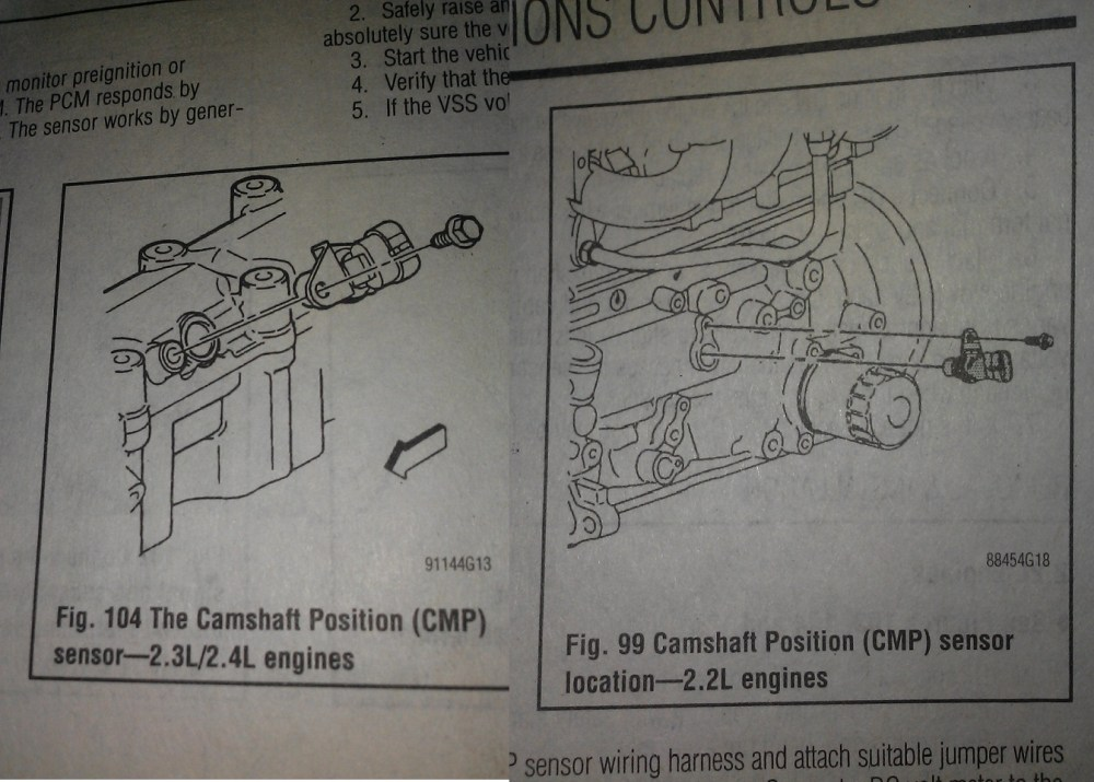 medium resolution of 16 answers pontiac sunfire questions where is the crank shaft position sensor