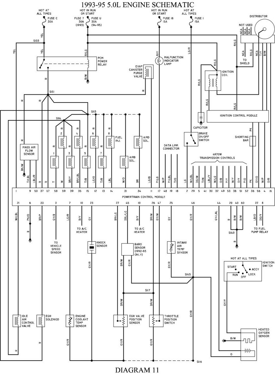 hight resolution of fuse diagram for a 1993 ford econoline van mark 3