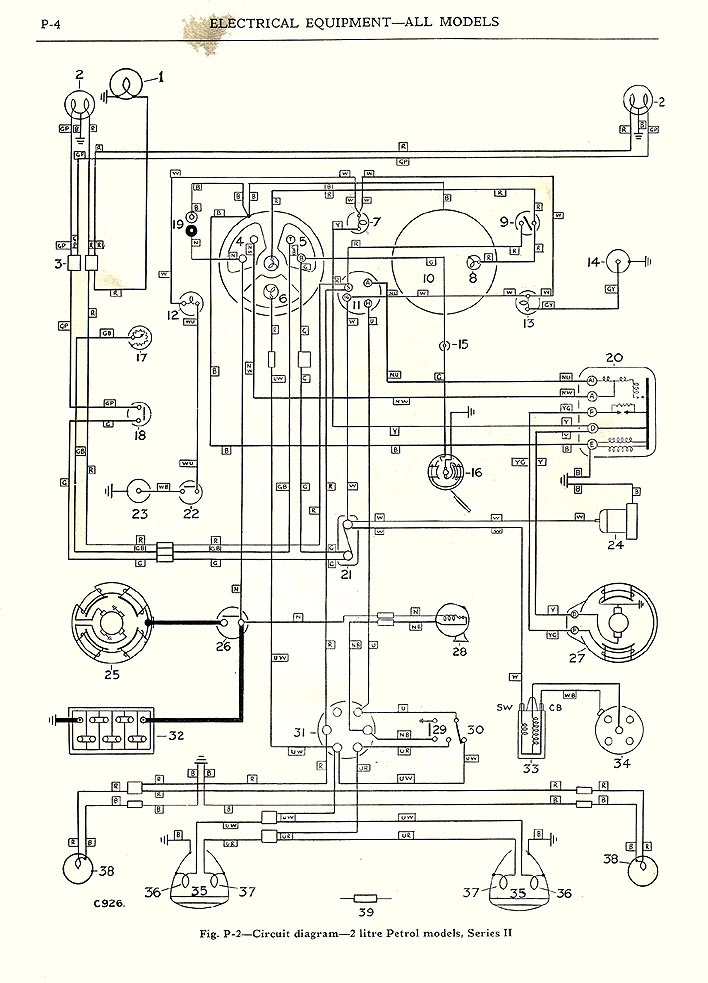 Austin Healey 3000 Wiring Diagram : 33 Wiring Diagram