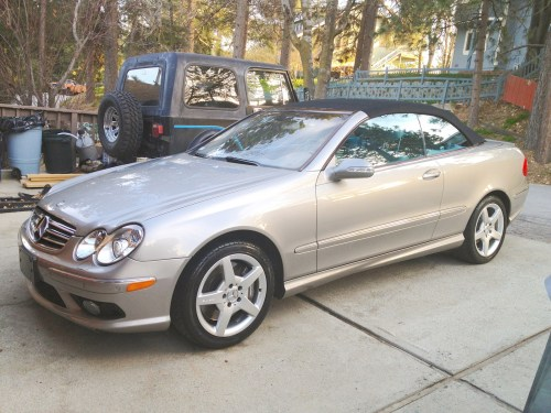 small resolution of i have a clk500 cabrio today the radio worked fine went to turn the