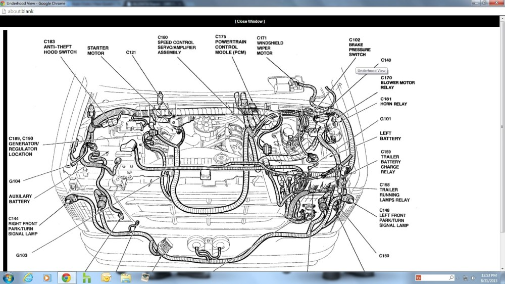 medium resolution of 06 ford e 350 pcm wiring diagrams