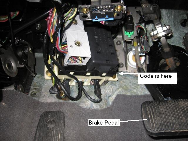 1996 Toyota Corolla Under The Dash Fuse Box Car Wiring Diagram Ford Taurus Questions Where Do I Find The Keyless Entry