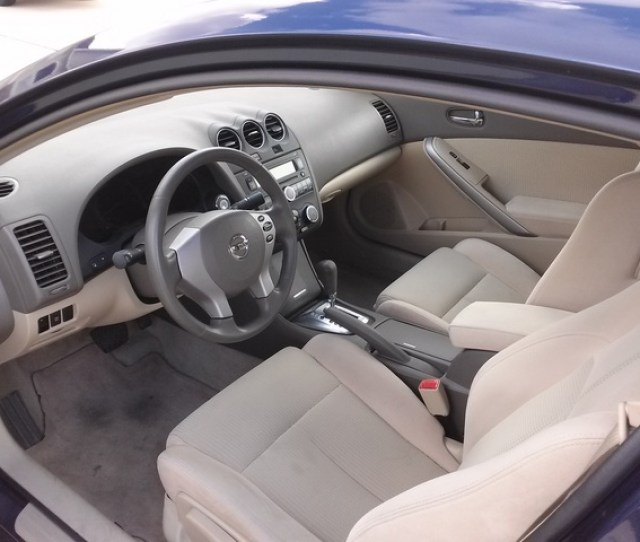Picture Of 2010 Nissan Altima Coupe 2 5 S Interior Gallery_worthy