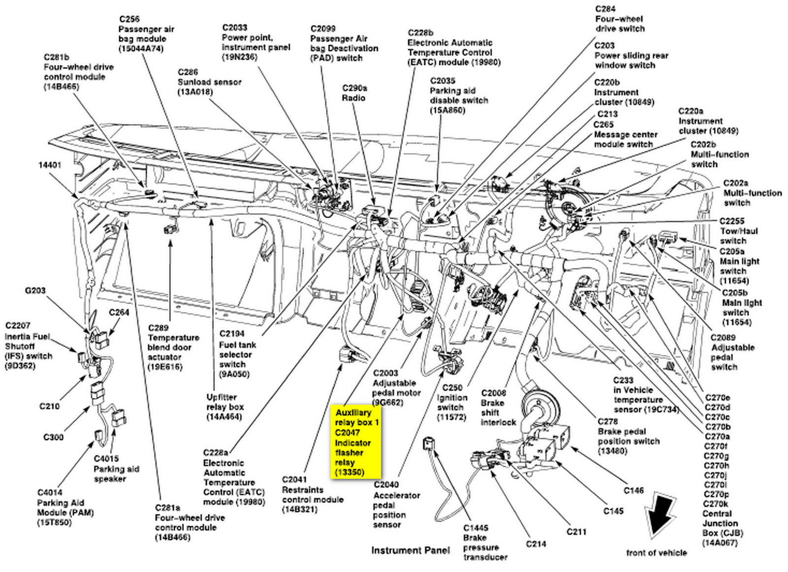 Manual Freestar Auto Electrical Wiring Diagram Yamaha Wr250r Ford E Series Cargo Questions