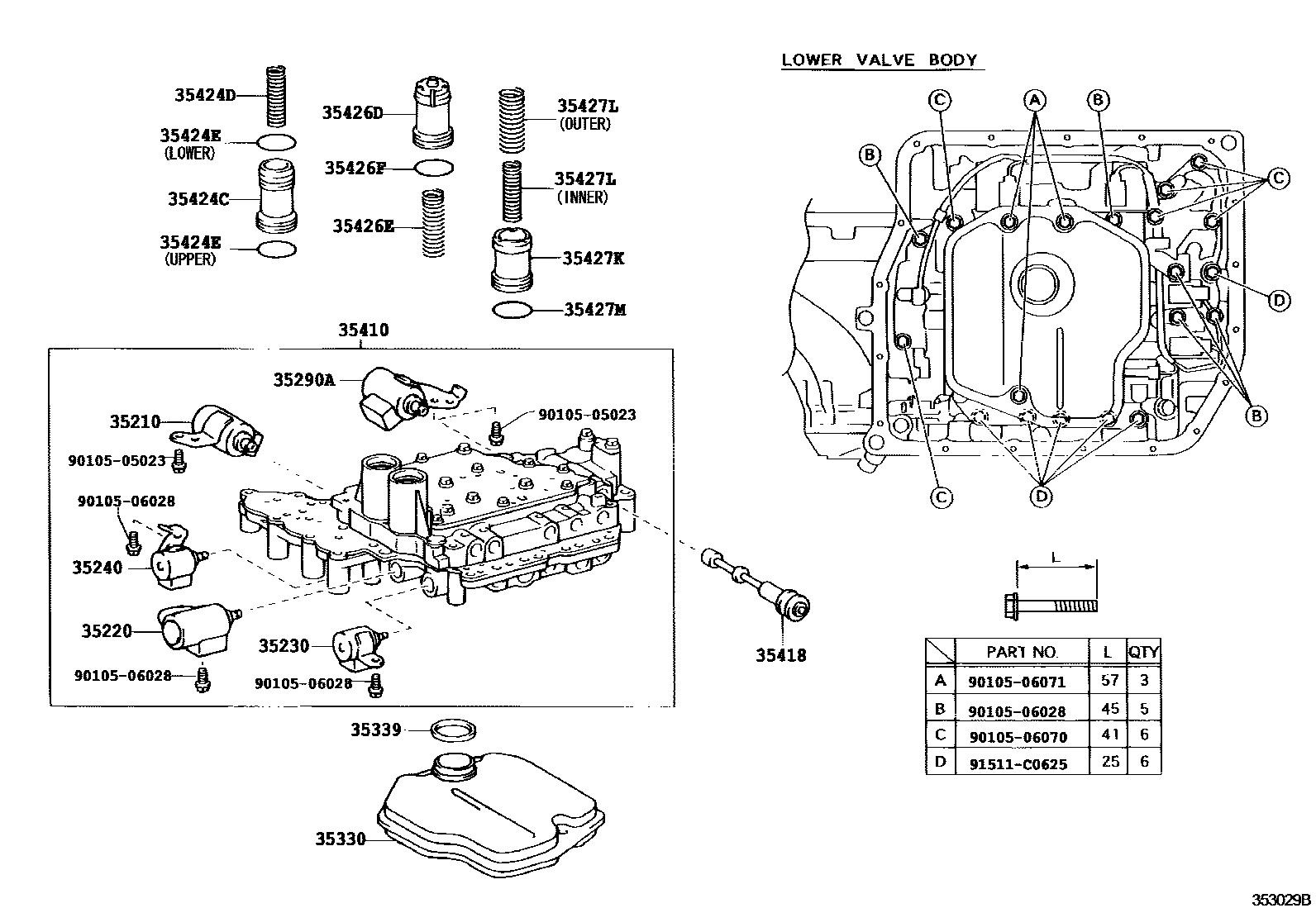 hight resolution of diagram of coil pack on 96 lexus es300 wiring diagram for you lexus gx470 transmission lexus transmission diagrams