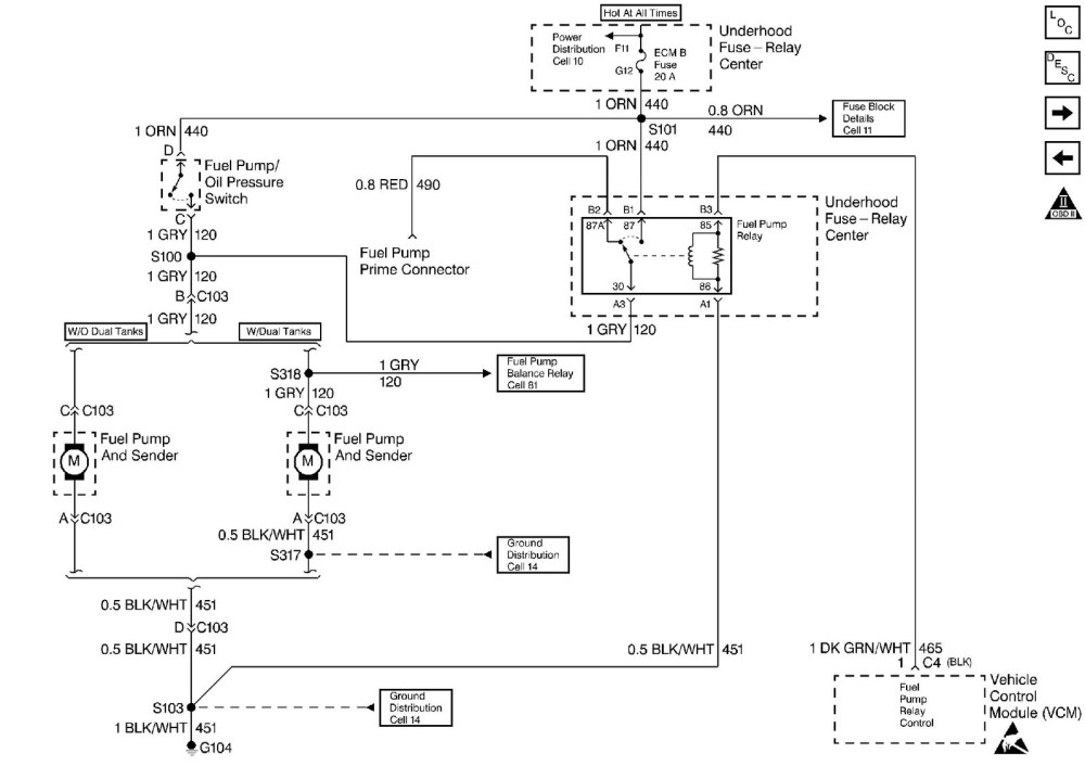 medium resolution of okay this schematic shows that you ve a fuel pump relay