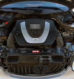 if it s a my2007 c230 it s a v6 your engine under the hood should look like this  [ 1600 x 1067 Pixel ]
