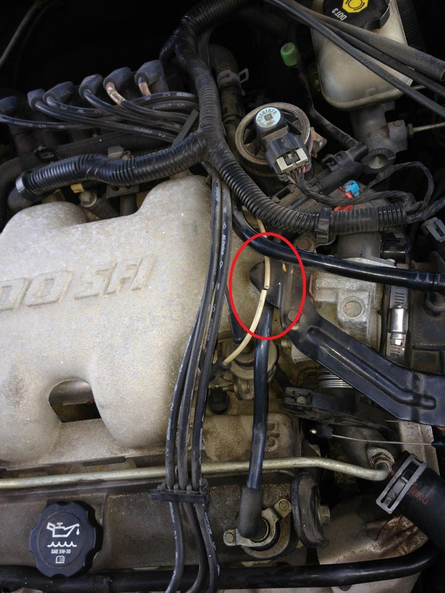 2005 pontiac grand am engine diagram