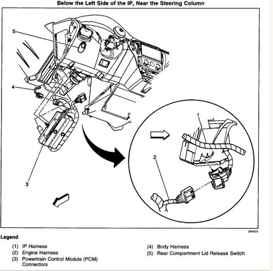 2001 ford mustang fuel filter diagram