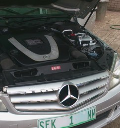 my c350 cannot start after had an accident they i replaced the fuse box even though  [ 1280 x 720 Pixel ]