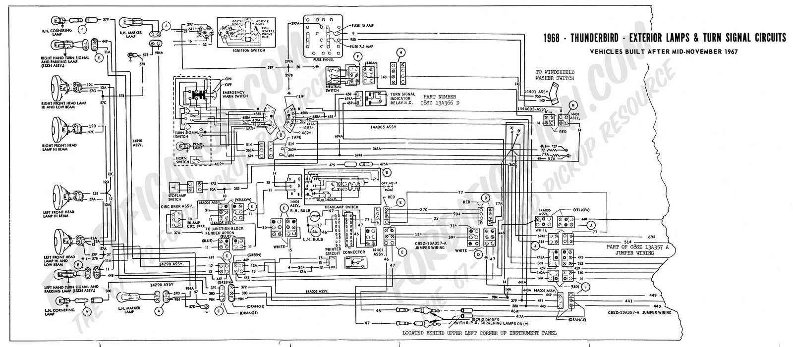 1961 Ford Galaxie Fuse Box. Ford. Auto Wiring Diagram